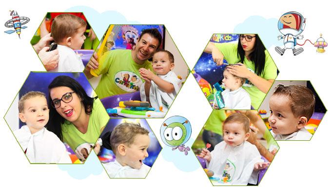 Corte de Cabelo para Bebês